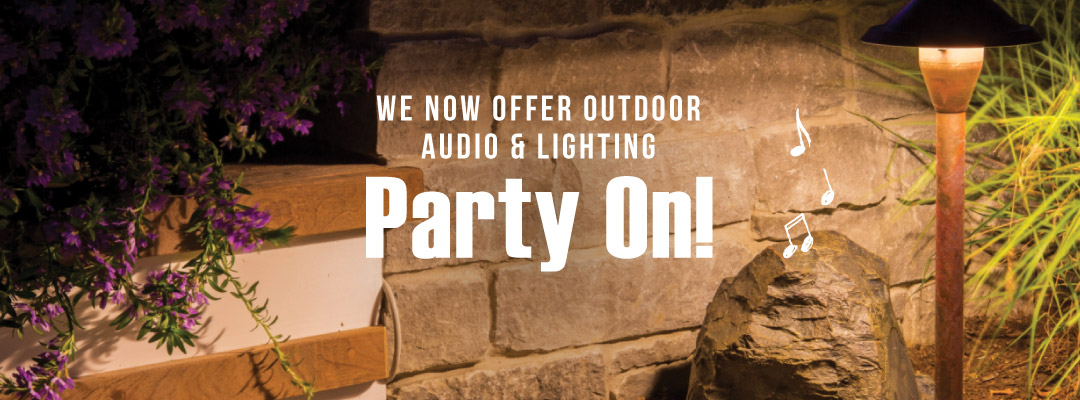 Landscape audio and lighting