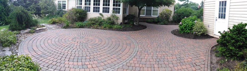 Cleaned and Sealed Patio