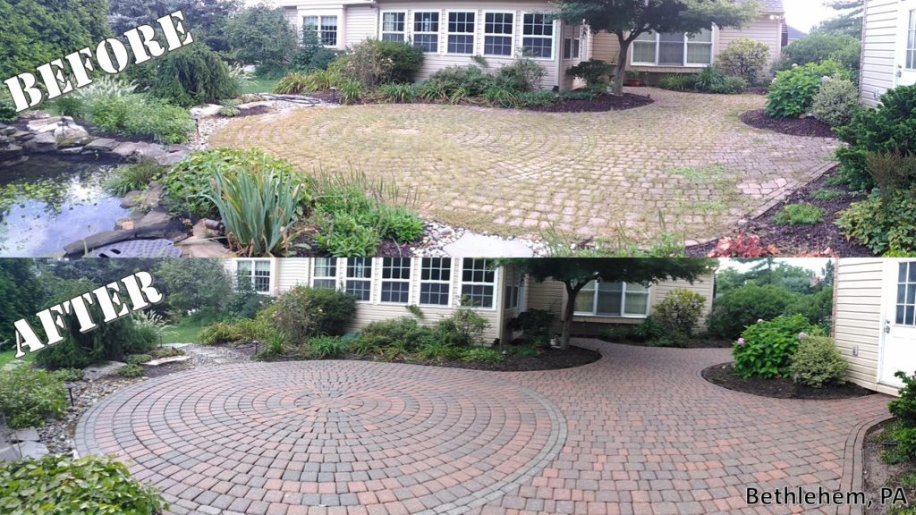 Cort Pavers - Before & After